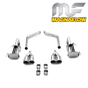 Corvette Exhaust System - Magnaflow Exhaust : 2005-2008 C6