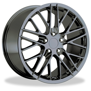 Corvette Wheel - 2009 ZR1 Style Reproduction : PVD Black Chrome