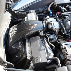 Corvette Super Ram Cold Air - LG Motorsports : 2006-2013 C6 & Z06 - LS3/LS7