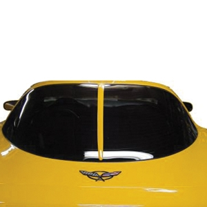 Corvette - '63 Style Rear Window Trim : 2003-2004 C5