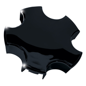 Corvette Wheel Center Cap - Gloss Black : 2000-2004 C5 & Z06