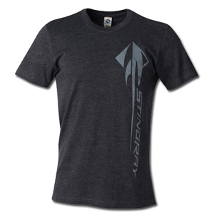 C7 Corvette Stingray Vertical T-shirt : Heather Black - 2014+