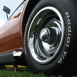 Corvette Rallye Wheel Set. Replacement: 1969-1982