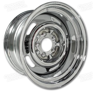 Corvette Rallye Wheels-4. Chrome: 1969-1982