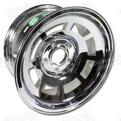 Corvette Aluminum Wheel. Chrome: 1976-1982