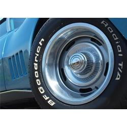 Corvette Rallye Wheel Set. Reproduction: 1968