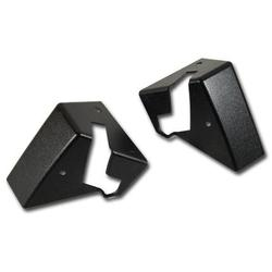 Corvette Top Storage Bracket Covers - Black 85E: 1984-1985