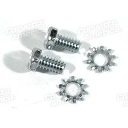 Corvette Backup Light Switch Mount Screws.: 1964-1978