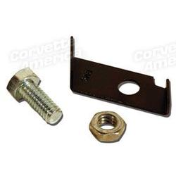 Corvette Brake Light Switch Striker. For Power Brakes - Mounts On Pedal: 1963-1967