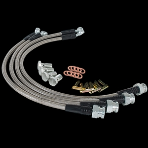 Corvette 97-04 Goodridge Stainless Steel Brake Lines
