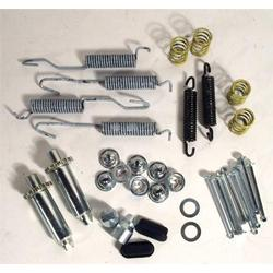 Corvette Brake Shoe Hardware Kit. Front: 1956-1962