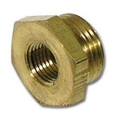 Corvette Carburetor Inlet Fitting. 3/4 Inch Hex Brass AFB: 1962-1965