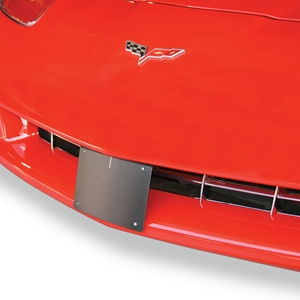 Corvette Removable License Plate Bracket Kit : 2005-2013 C6 & Z06