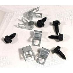 Corvette Fuel Line CLips - 10 Piece Set: 1971-1973