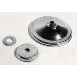 Corvette Master Cylinder Cover, Cap & Washer.: 1963