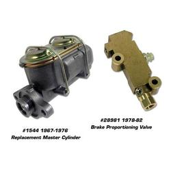 Corvette Master Cylinder with Power Brake Booster - Remanufactured: 1968-1976