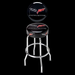C6 Corvette Counter Stool