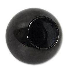 Corvette Shift Knob. Manual Black: 1968-1982