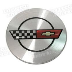 Corvette Wheel Center Cap.: 1986-1990