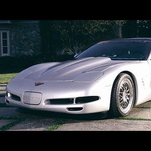 Corvette '97-'04 WCC Raised Sport Hood