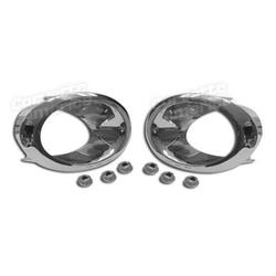 Corvette Exhaust Bezels.: 1966-1967
