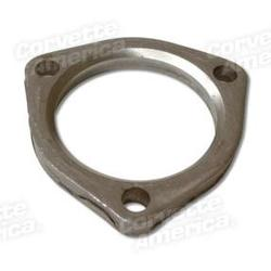 Corvette Exhaust Pipe Flange. 2.5 Inch Flat Type: 1962-1974