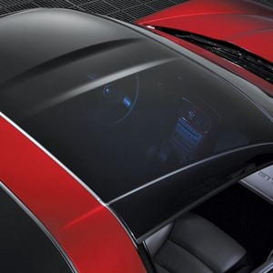 Corvette Coupe Glass Roof Panel : 2005-2013 C6