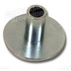 Corvette Side Exhaust Pipe Rear Cushion Retainer.: 1965-1967
