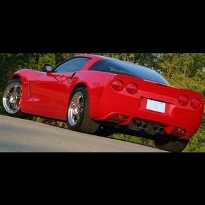 Corvette Rear Fascia by Starcraft : 2005-2013 C6, Z06, ZR1 & Grand Sport