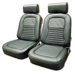 Corvette Leather Seat Covers. Green: 1967