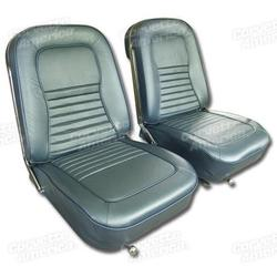 Corvette Leather Seat Covers. Teal: 1967