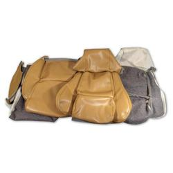 Corvette Leather Like Seat Covers. Saddle Standard: 1984-1987