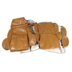 Corvette Leather Like Seat Covers. Saddle Standard: 1989-1991