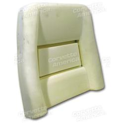 Corvette Seat Foam. Back 4 Inch: 1978-1982