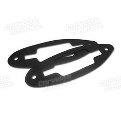 Corvette Convertible Top Rear Latch Gaskets. On Deck: 1956-1962
