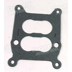Corvette Carburetor Base Gasket. Holley W/Aluminum Intake: 1964-1972