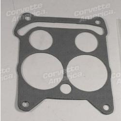 Corvette Carburetor Base Gasket. Quadra-Jet 300,350,390 Horsepower: 1968-1969
