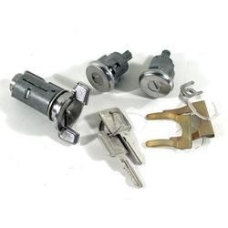 Corvette Lock Set. Ignition/Doors W/Electric Locks: 1979-1982